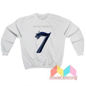 BTS Map Of The Soul 7 Album Sweatshirt