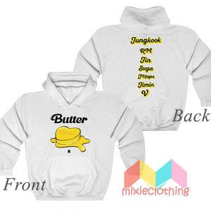 BTS Personel and Butter Melting Hoodie