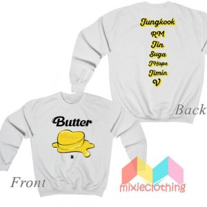 BTS Personel and Butter Melting Sweatshirt