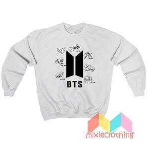 BTS Signature Personel Sweatshirt