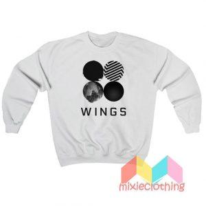 BTS Wings Album Sweatshirt