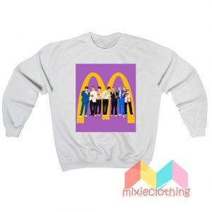 BTS X McDonald Collabs Sweatshirt