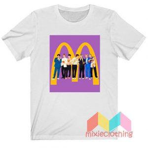 BTS X McDonald Collabs T-shirt