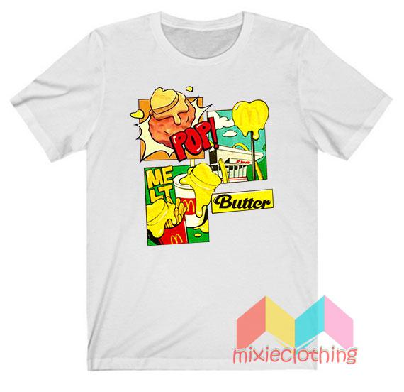 BTS X McDonald Melting Butter T-shirt