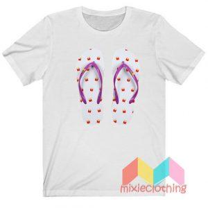 BTS X McDonalds Sandals T-shirt