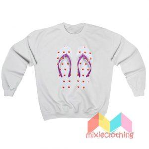 BTS X McDonalds Sandals Sweatshirt