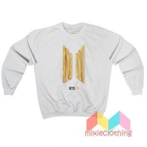 French Fries BTS McDonalds Sweatshirt