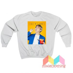 J Hope BTS X McDonalds The BTS Meal Sweatshirt