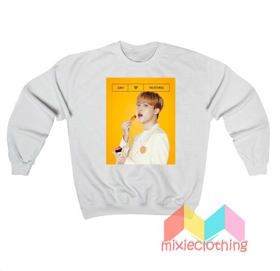 Jimin BTS X McDonalds The BTS Meal Sweatshirt