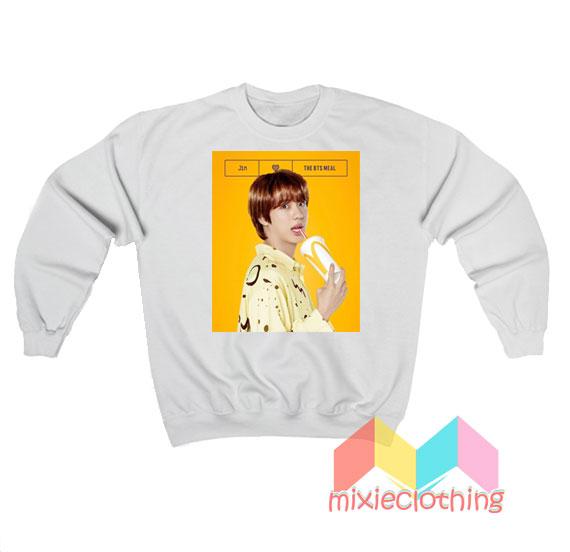 Jin BTS X McDonalds The BTS Meal Sweatshirt