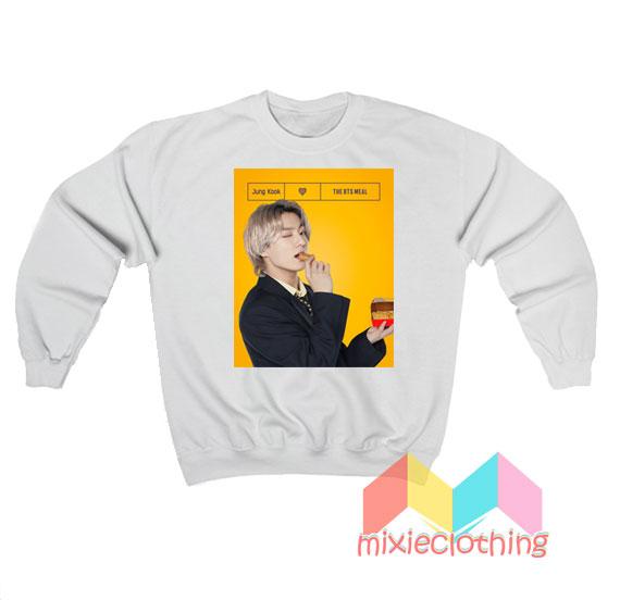 Jung Kook BTS X McDonalds The BTS Meal Sweatshirt
