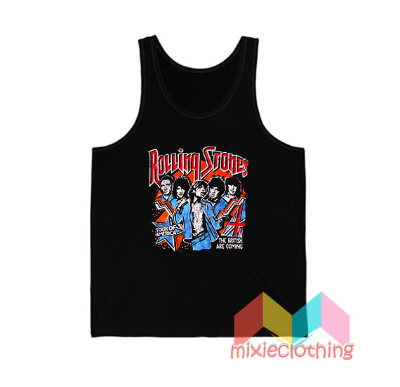 The Rolling Stones Tour Of America Tank Top