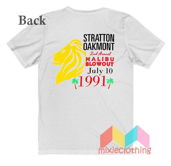 Stratton Oakmont 2nd Annual Malibu Blowout T-shirt
