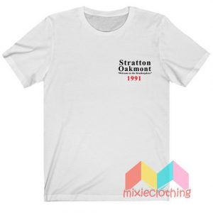 Stratton Oakmont Welcome To Strathosphere T-shirt