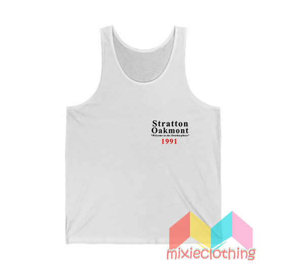 Stratton Oakmont Welcome To Strathosphere Tank Top