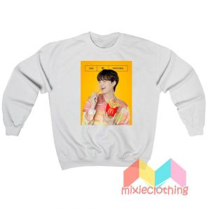 Suga BTS X McDonalds The BTS Meal Sweatshirt