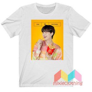 Suga BTS X McDonalds The BTS Meal T-shirt