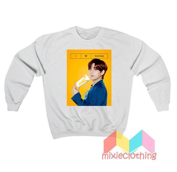 V BTS X McDonalds The BTS Meal Sweatshirt