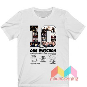 10 Years Of One Direction T-Shirt