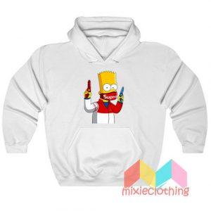 Bart Simpson Gang Supreme Hoodie