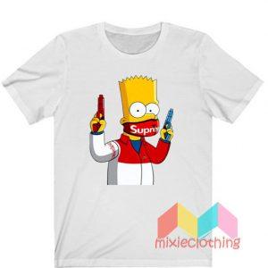 Bart Simpson Gang Supreme T-Shirt