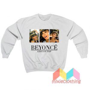 Beyonce Love On Sweatshirt