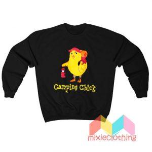 Camping Chick Sweatshirt