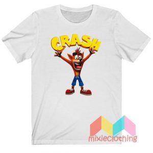 Crash Bandicoot Game T-shirt