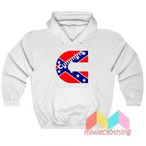 Cummins Confederate Flag Hoodie