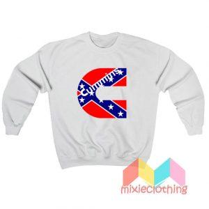 Cummins Confederate Flag Sweatshirt