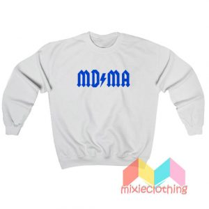 MDMA ACDC Logo Parody Sweatshirt
