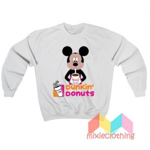 Mickey Mouse Dunkin Donuts Sweatshirt