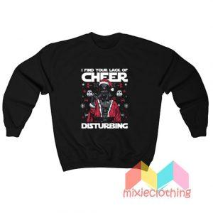 Star Wars Darth Vader Quotes Ugly Christmas Sweatshirt