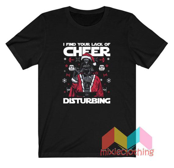 Star Wars Darth Vader Quotes Ugly Christmas T-shirt