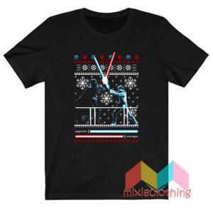 Star Wars Darth Vader War Ugly Christmas T-shirt