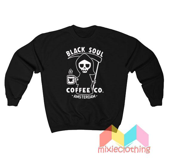 Black Soul Coffee Co Amsterdam Sweatshirt
