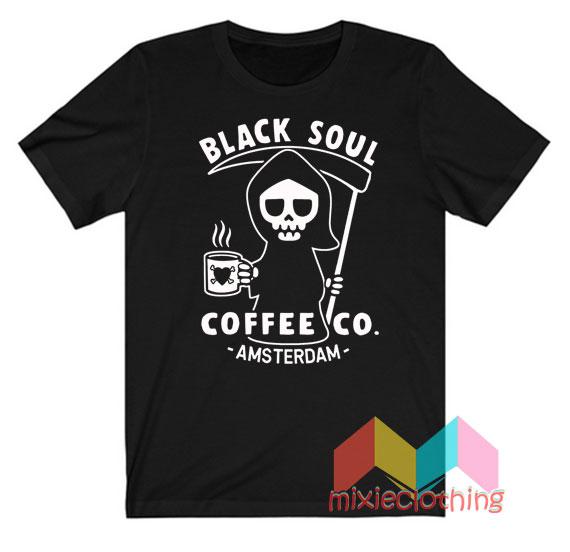 Black Soul Coffee Co Amsterdam T-Shirt