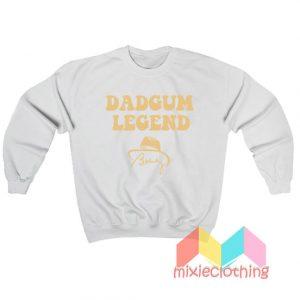 Bobby Bowden Dadgum Legend Sweatshirt
