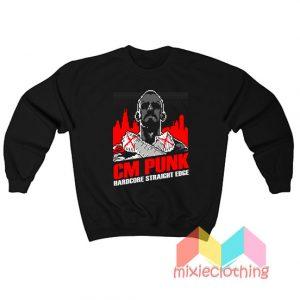CM Punk Hardcore Straight Edge Sweatshirt
