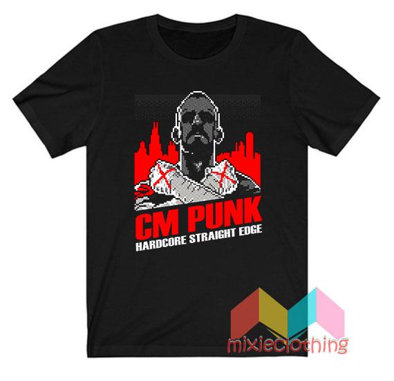 CM Punk Hardcore Straight Edge T-Shirt